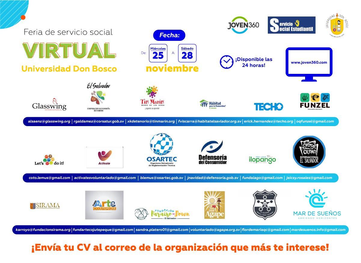 Feria de servicio social udb
